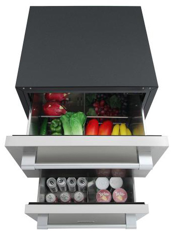 THOR Professional Double Drawer Undercounter Refrigerator