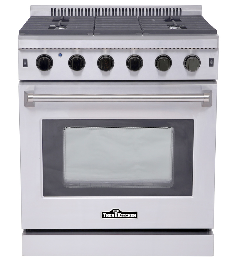 THOR Kitchen Stoves Professional Stainless Steel Ranges And Hoods - Abt gas ranges