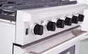 LRG3001U Stainless Steel Control Panel, Chrome Bezels, High Quality Control Knobs