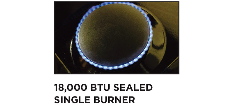 THOR 18,000 BTU power burners