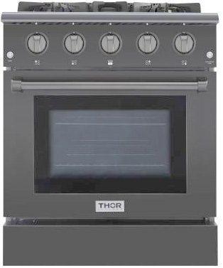 THOR 30 inch Black Stainless Steel