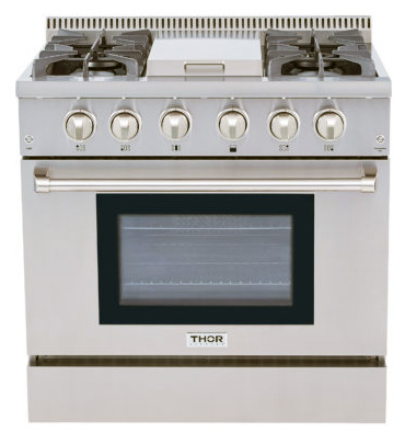 THOR Kitchen Stoves, Professional Stainless Steel Ranges and Hoods on