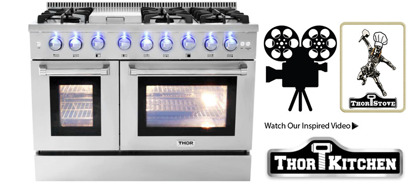 thor kitchen stoves professional stainless steel ranges and hoods