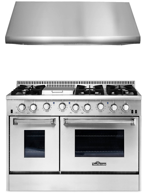 THOR Kitchen Stoves, Professional Stainless Steel Ranges and ...