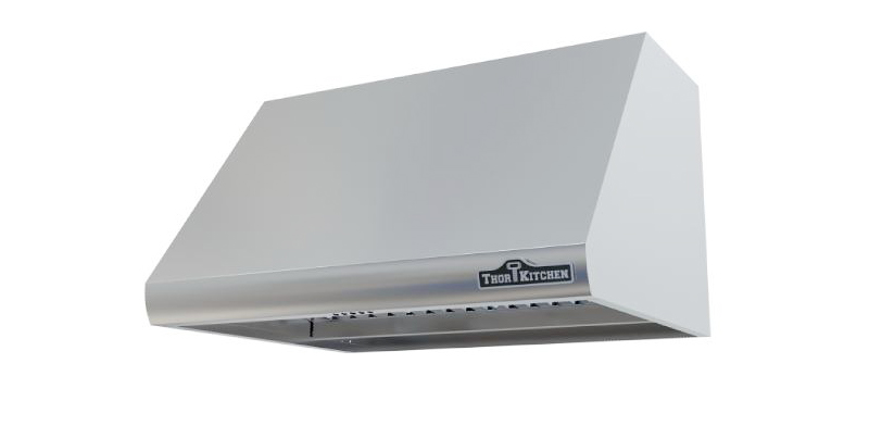 thor 30 inch wall mount hood with 18 inch height and ultra quiet motor - Kitchen Exhaust Hood