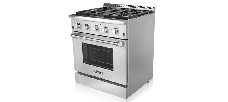 thor kitchen stoves professional stainless steel ranges and hoods - Kitchen Stove