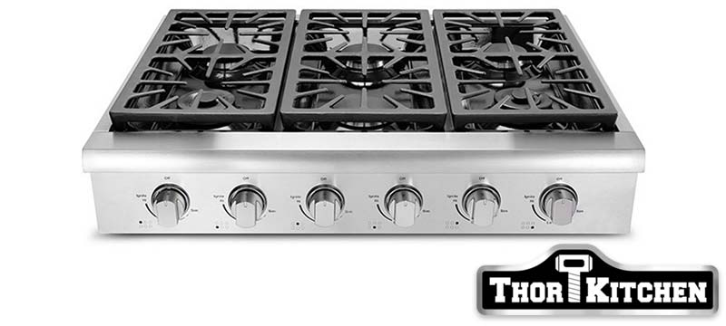 THOR model HRT3618U cooktop