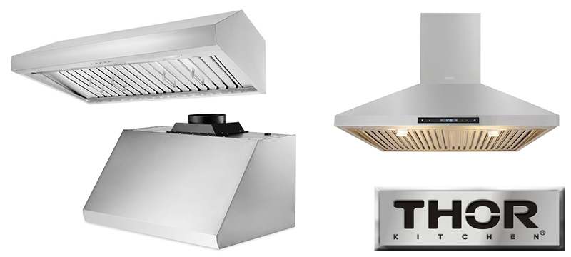 Ventilation Hoods For Thor Kitchen Stoves