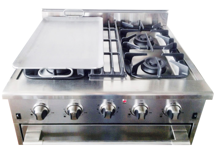 THOR Professional Range Accessory Add On Griddle Plate Surface
